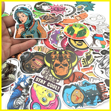 PVC Stickers Waterproof Random No Duplicates 500 Pcs