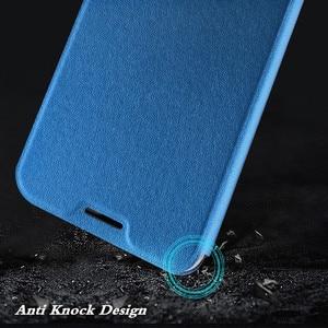 Image 3 - Étui à rabat dorigine MOFi pour Xiaomi A2 étui en polyuréthane thermoplastique pour Xiomi Mi A2 cuir PU pour xiaomi 6X Silicone