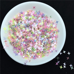 Image 3 - 500g/pack 4mm Star Shape Loose Sequins Paillettes for Nails Art wedding Decoration Confetti Star Nail Sequin Arts and Crafts