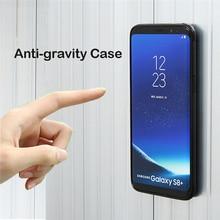 Анти тяжести чехол для телефона для samsung S9 S8 S7 S6 S5 Edge Plus Примечание 8 7 5 4 для iPhone X 8 7 6 S 6 плюс 5 5S SE адсорбированных чехол