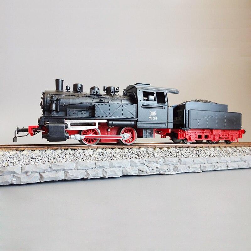 Train à vapeur allemand modèle 1/87 50501 modèle à vapeur européen Initial