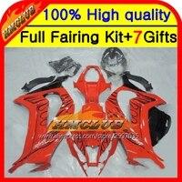 Body Injection For KAWASAKI NINJA ZX10R Black Flames ZX 10R HM2217 ZX 10R 11 12 13