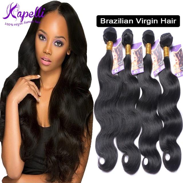 8a Unprocessed Brazilian Virgin Hair 4 Bundles Rosa Brazilian Body