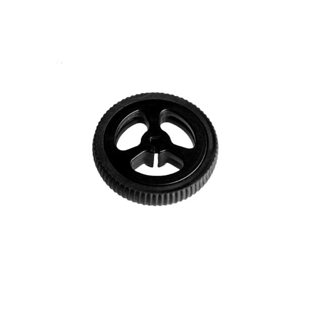 10pcs/lot ZJ327 3PI MiniQ Car N20 Motor Rubber Wheel Diameter 34mm Code Disk 34*7 Black Color