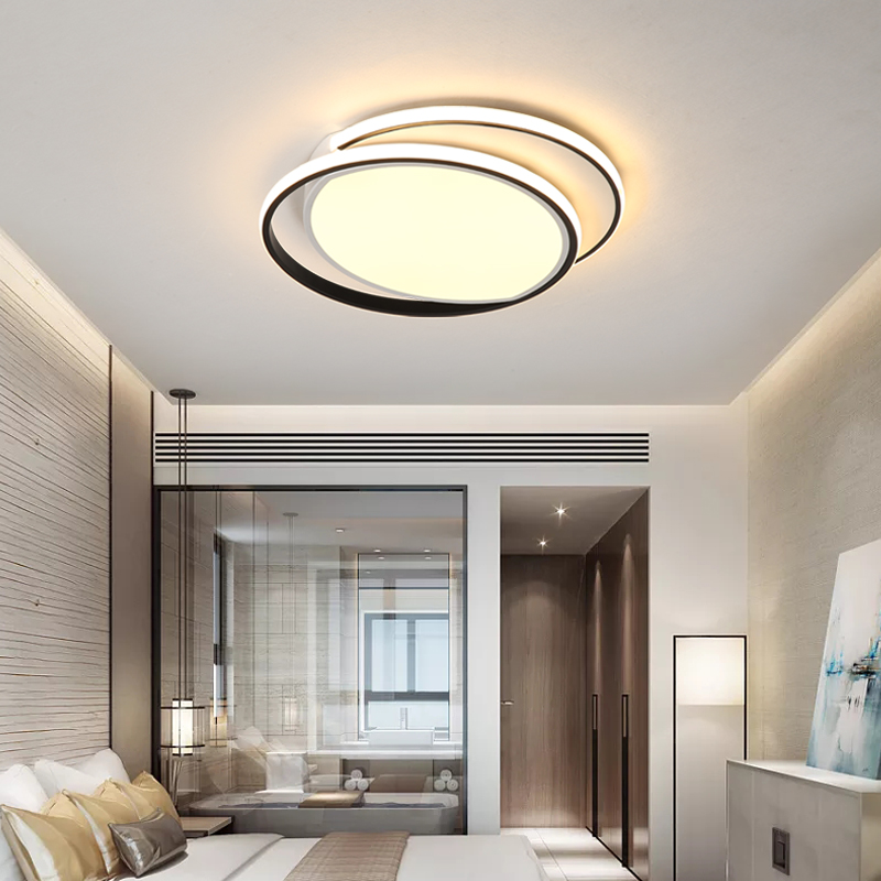 Chandelierrec Ac85 265v Home Lighting Fixtures Ceiling Lamp Into Low Ceilings Modern Led Ceiling Lights For Living Room Bedroom Buy At The Price Of 99 00 In Aliexpress Com Imall Com