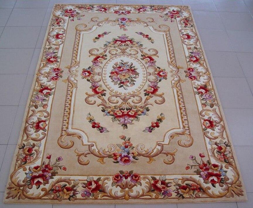 Квадратный Модный американский деревенский диван журнальный столик плюс размер утолщение цветок ковер 2,25 европейские и американские ковр...