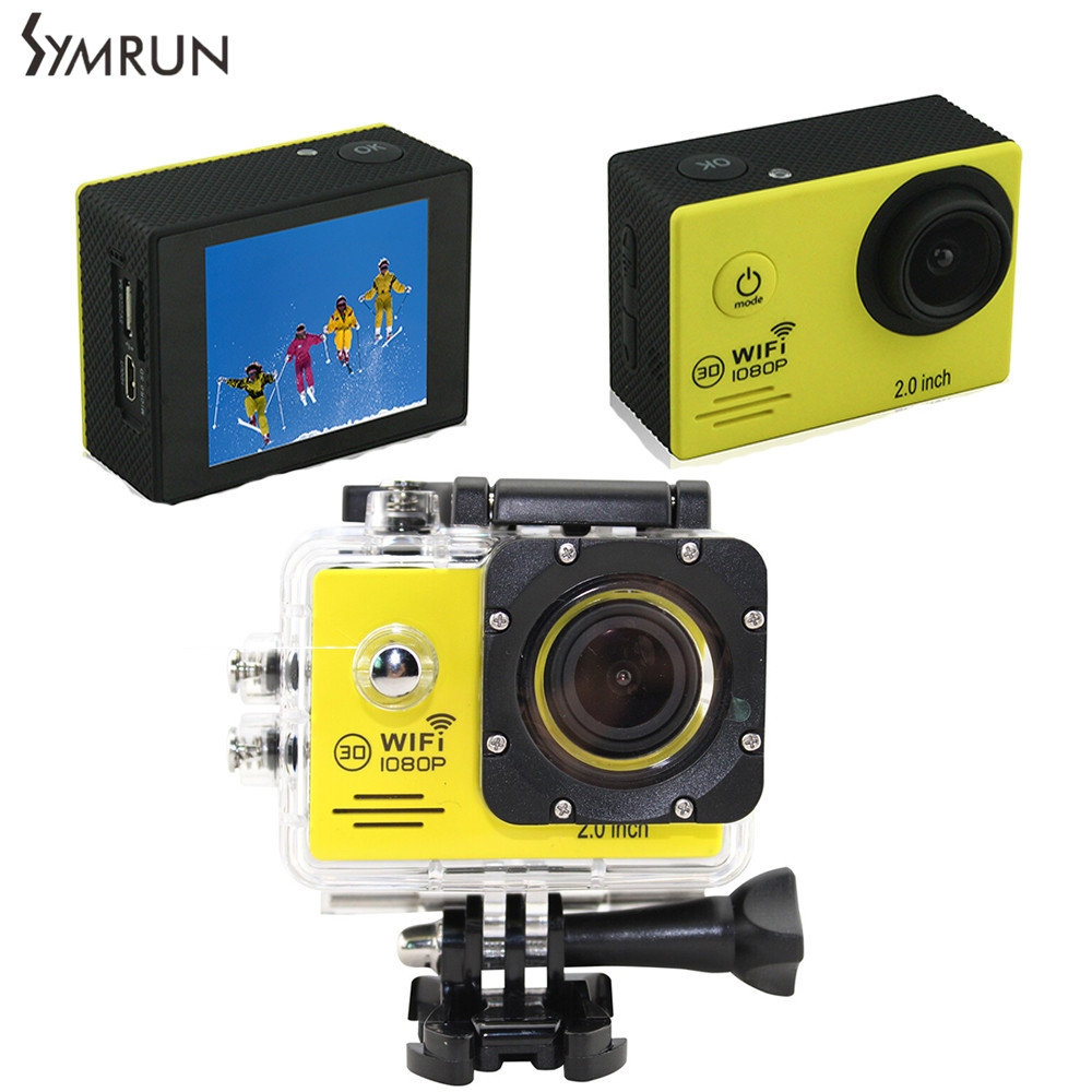 ФОТО Original Symrun SJ4000 WIFI 2.0 LCD Sport action camera full HD1080P sj 4000 wifi original waterproof Digital camera  video