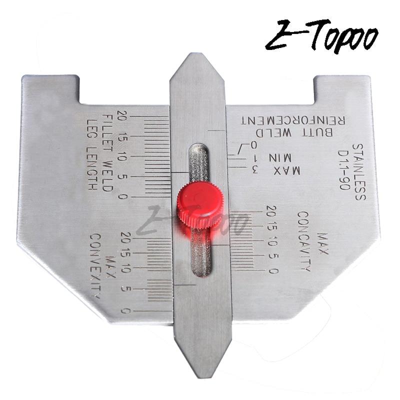 Автоматический калибр размера сварного шва для армирования сварного шва