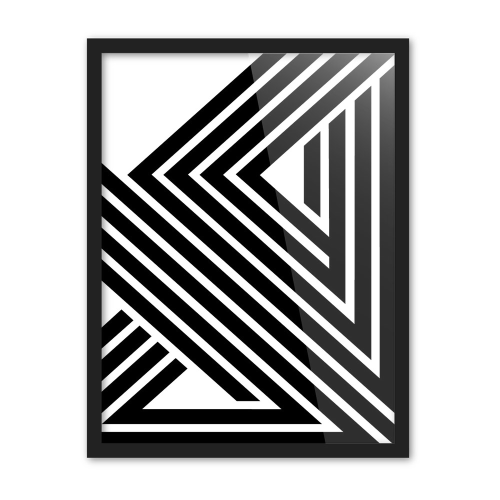 Black White Modern Minimalist Geometric Shape Art Prints Poster Abstract Wall Picture Canvas Painting Living Room Home Decor In Calligraphy From