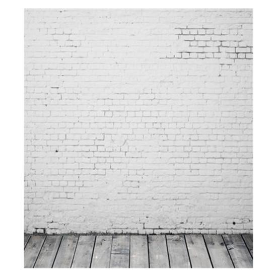 Light Gray Brick Wall 5x7ft Studio Wood Floor Photo Backdrop Vinyl игрушка ecx ruckus gray blue ecx00013t1