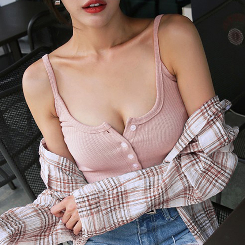 Shintimes Slim Sexy Woman Tshirt Top Sleeveles Summer 2018 Cotton T Shirt Women T-Shirt Camisole Casual Woman Tee Shirt Femme