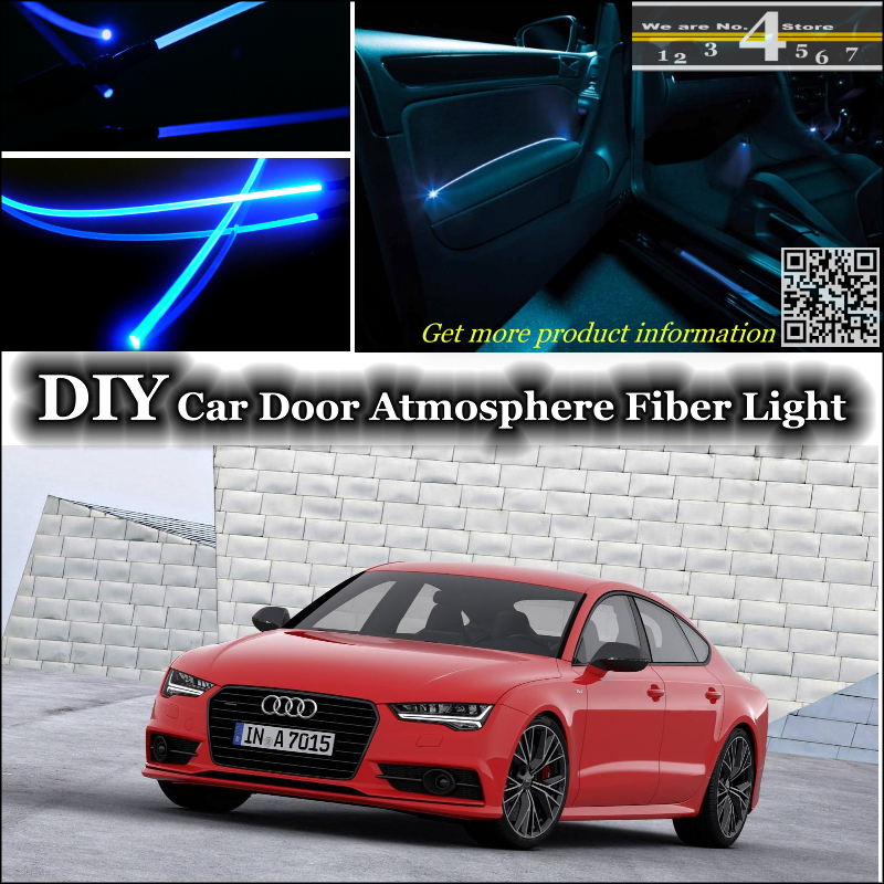 Interior Ambient Light Tuning Atmosphere Fiber Optic Band