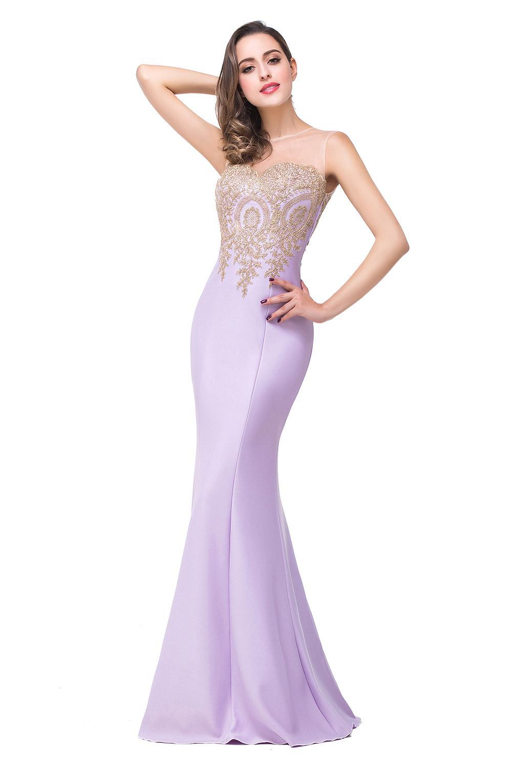 Compare prices on lavender wedding dresses online for Cheap lavender wedding dresses