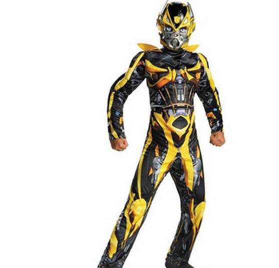 Transformers Kids Costume Full Body Suit Bumblebee Optimus Prime Superhero New