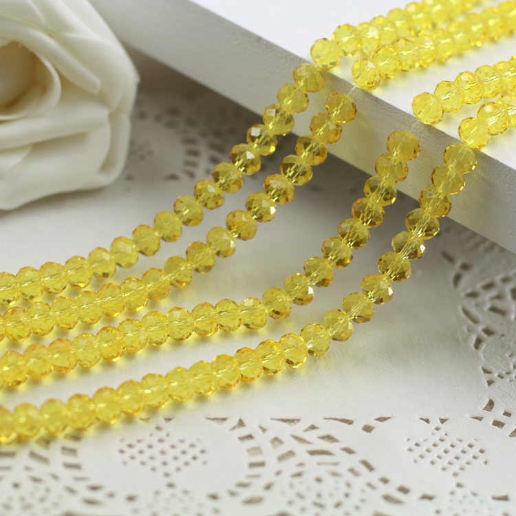 Light Topaz Color 2mm,3mm,4mm,6mm,8mm 10mm,12mm 5040# AAA Top Quality loose Crystal Rondelle Glass beads emerald color 2mm 3mm 4mm 6mm 8mm 10mm 12mm 5040 aaa top quality loose crystal rondelle glass beads