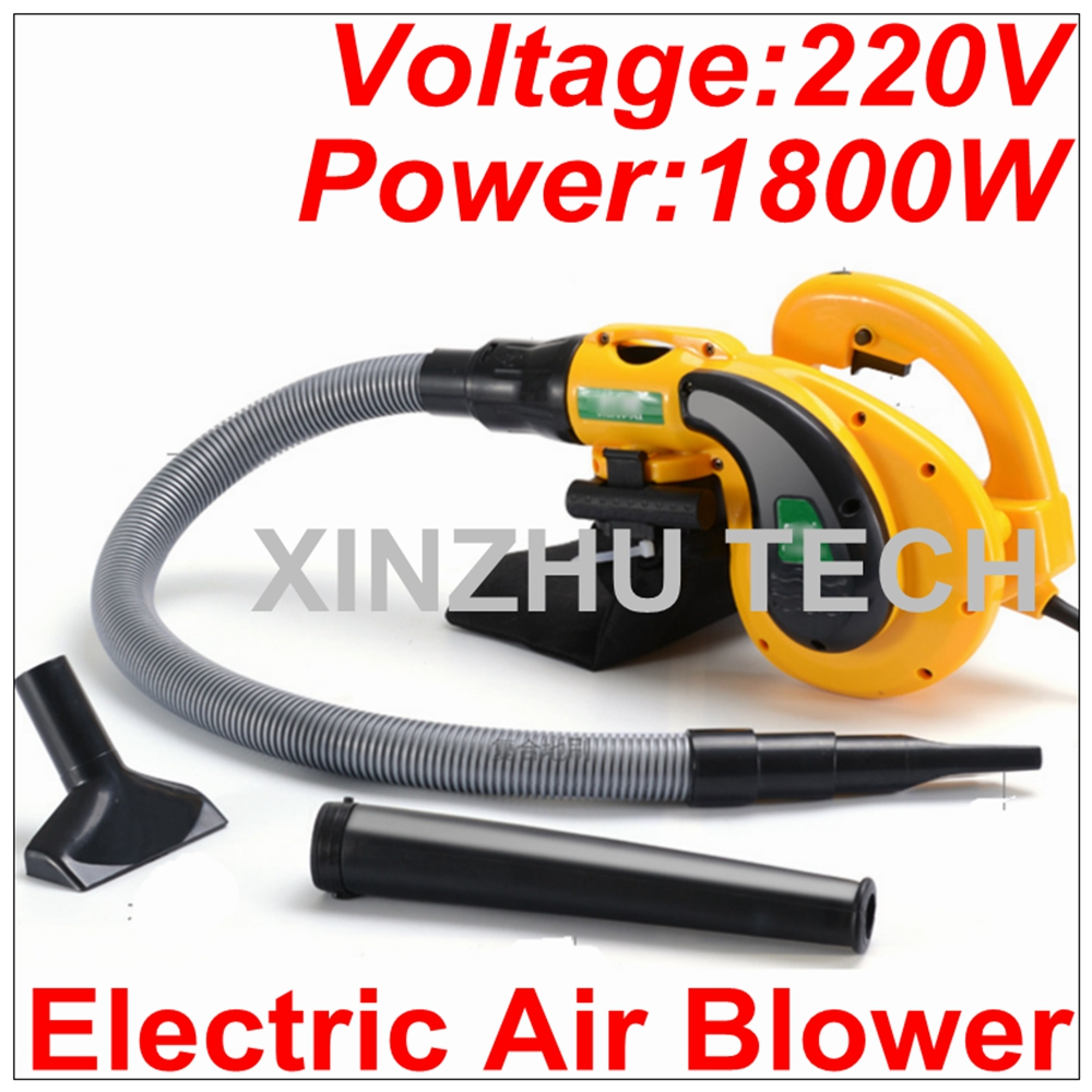 220V Electric Hand Operated Air Blower 1800W Computer Cleaner Electric Blower Vacuum Household Cleaner Suck Blow Dust Remover ...