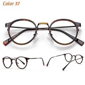 Image 3 - TR90 Gläser Rahmen Männer Retro Kleine Runde Brillen Frauen 2019 Vintage Myopie Optische Rahmen Brillen Brillen