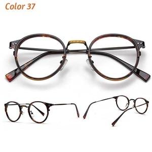 Image 3 - TR90 Glasses Frames Men Retro Small Round Prescription Glasses Women 2019 Vintage Myopia Optical Frames Eyeglasses Eyewear