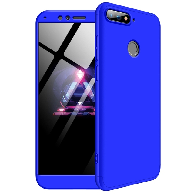Honor 7A Pro Case on Huawei Y6 Prime 2018 Cover 360 Full Phone Case for  Funda Huawei Honor 7A 5.7inch Case Carcase Pouzdro Women 52dbe0fea