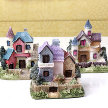 Resin House Miniature House Fairy Garden