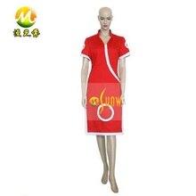 Anime naruto sakura haruno cosplay dress cos disfraces para mujeres niñas rojo sexy vestidos vestidos de noche del partido de halloween apperal