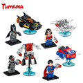 Avengers Marvel DC Super Hero star wars mini Building Blocks bricks kids Toys Superman Batman spiderman l compatible