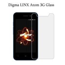 Digma LINX Atom 3g стекло Премиум Настоящее Закаленное стекло для Digma LINX Atom 3g Взрывозащищенная защитная пленка для экрана