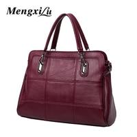 High Quality Fashion Women Bag Women PU Leather Handbag Large Capacity Black Tote Bag Female Shoulder