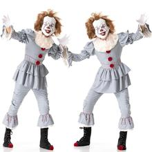 Halloween Adult Cosplay Clown Costumes Carnival Returning Soul Costume Christmas Stage Performance Suit Scary Evening Clothing цена