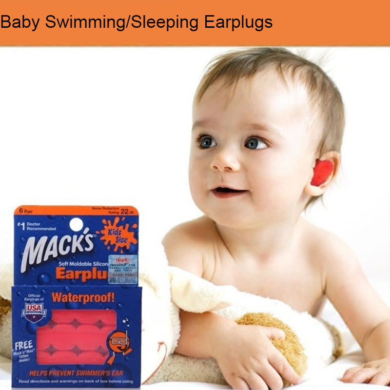 Silicone Adults//Children Ear Plugs Sleeping Swimming