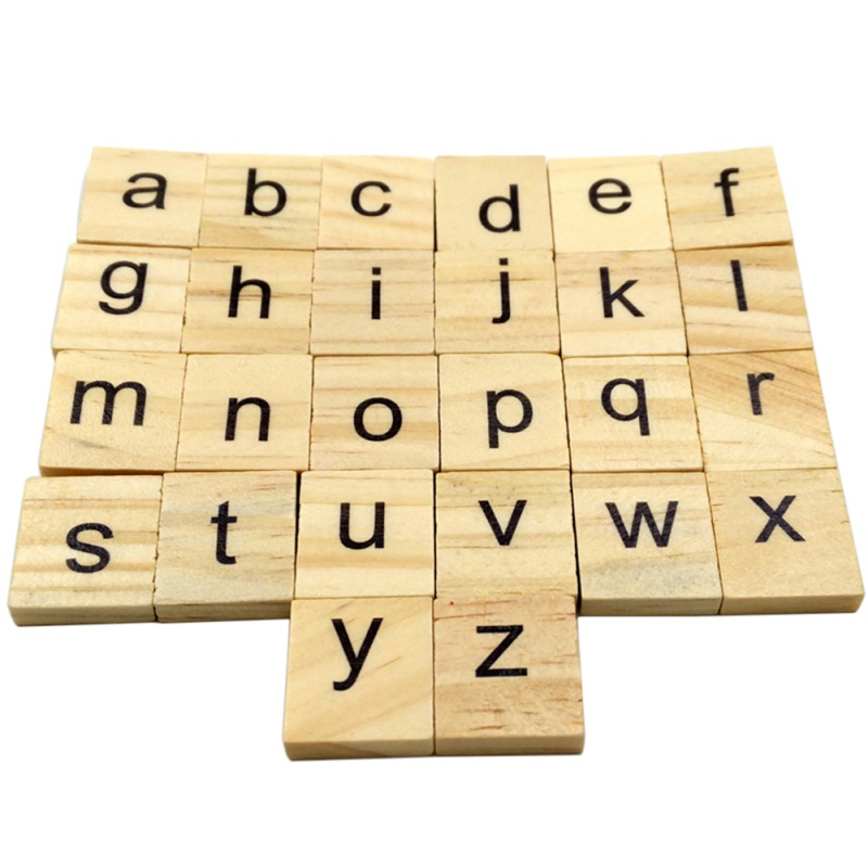 100Pcs/set Wooden Letters English Numbers Alphabet Word Name Design Art Craft Free Standing Heart Shape Wedding Wood Home Decor
