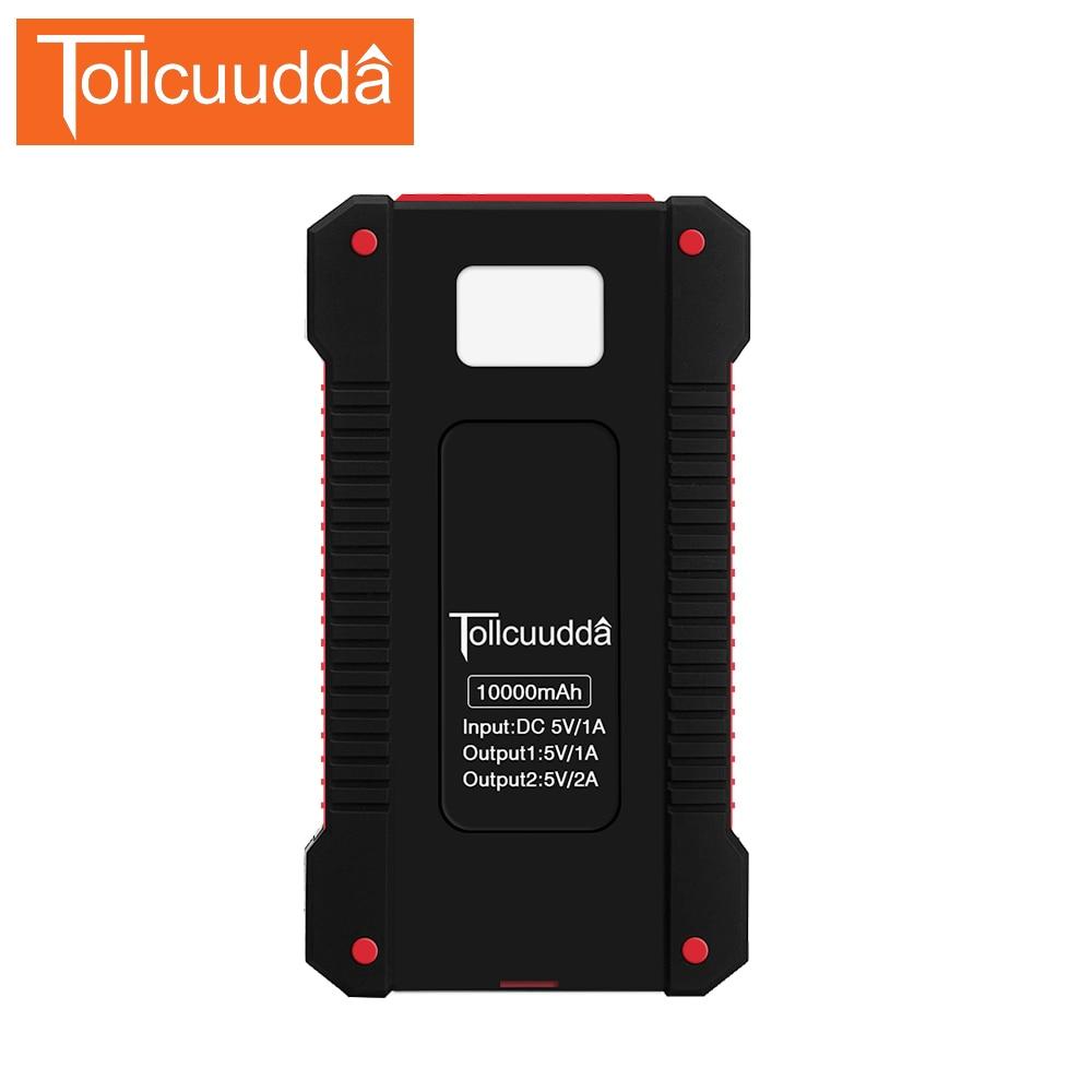 imágenes para Tollcuudda Poverbank Cargador Solar Power Bank 10000 mah Externa Del Teléfono Celular Para El Iphone Xiaomi Batería Externa Bateria Portable