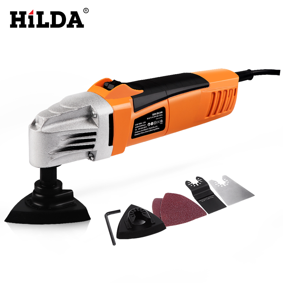 HILDA Renovator Multi Tools Electric Multifunction Oscillating Tool Kit Multi Tool Electric Trimmer Saw Accessories Power