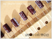 30PCS ELNA RA2 Series 10uF/100V Electrolytic Capacitor for Audio (Ribbon Package) free shipping цены