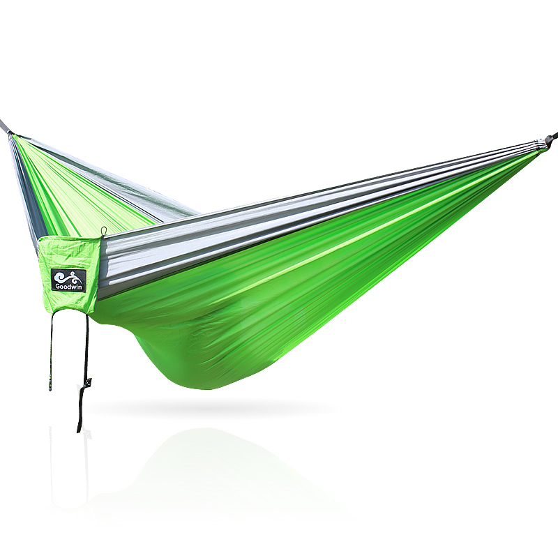 Outdoor Camping Hammock Green Nylon Modern Hammocks