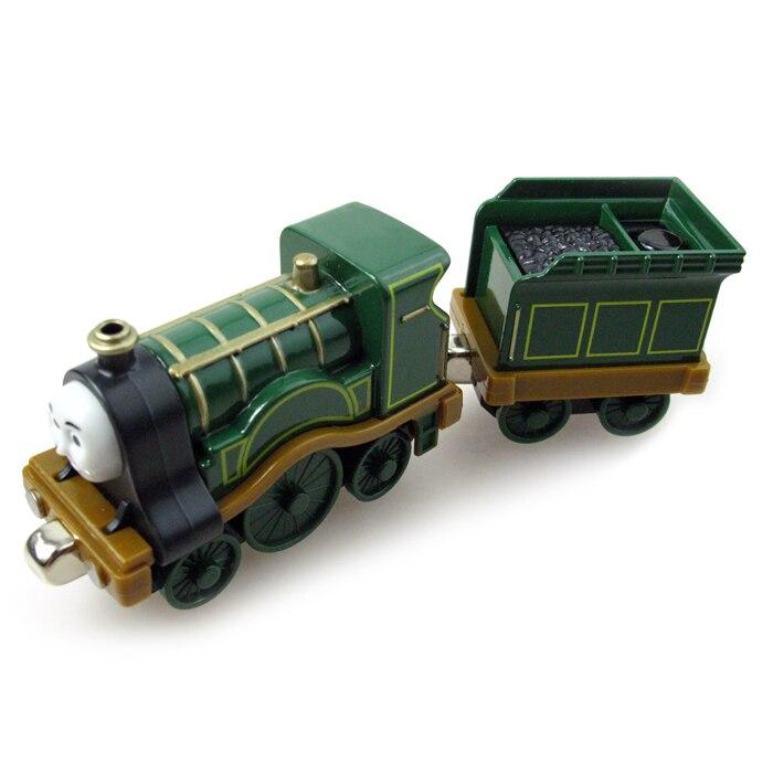 T0067 Miniatures Magnétique THOMAS et ami Le Tank Engine emmènent le train des enfants de métaux enfants jouet cadeau Emily avec camion