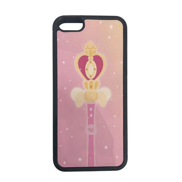 Yinuoda Sailor Moon Wallpaper Soft Rubber Black Phone Case For Iphone 7 7plus X 8 8plus 6s 6 6plus 5 5s Se Half Wrapped Cases Aliexpress