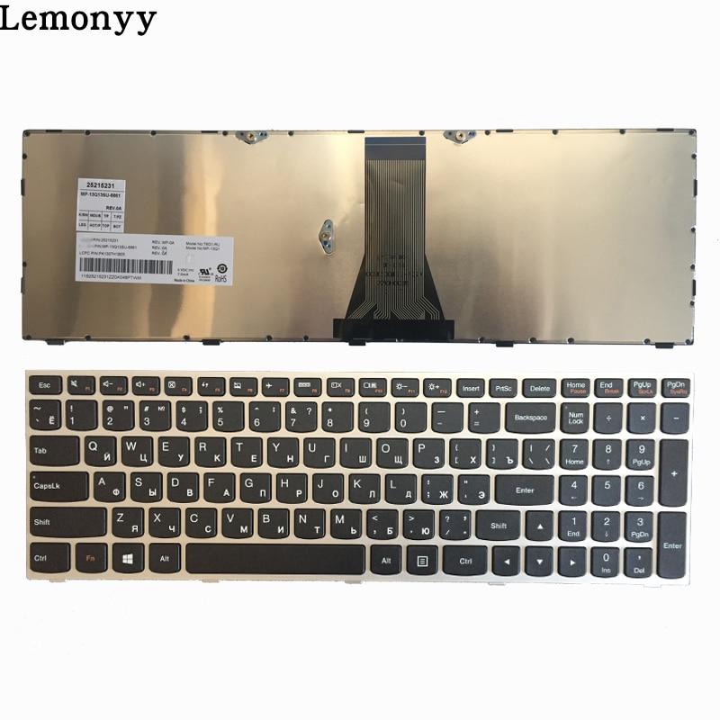 NOUVEAU Russe/RU clavier d'ordinateur portable POUR Lenovo G50 Z50 B50-30 G50-70A G50-70H G50-30 G50-45 G50-70 G50-70m Z70-80 argent