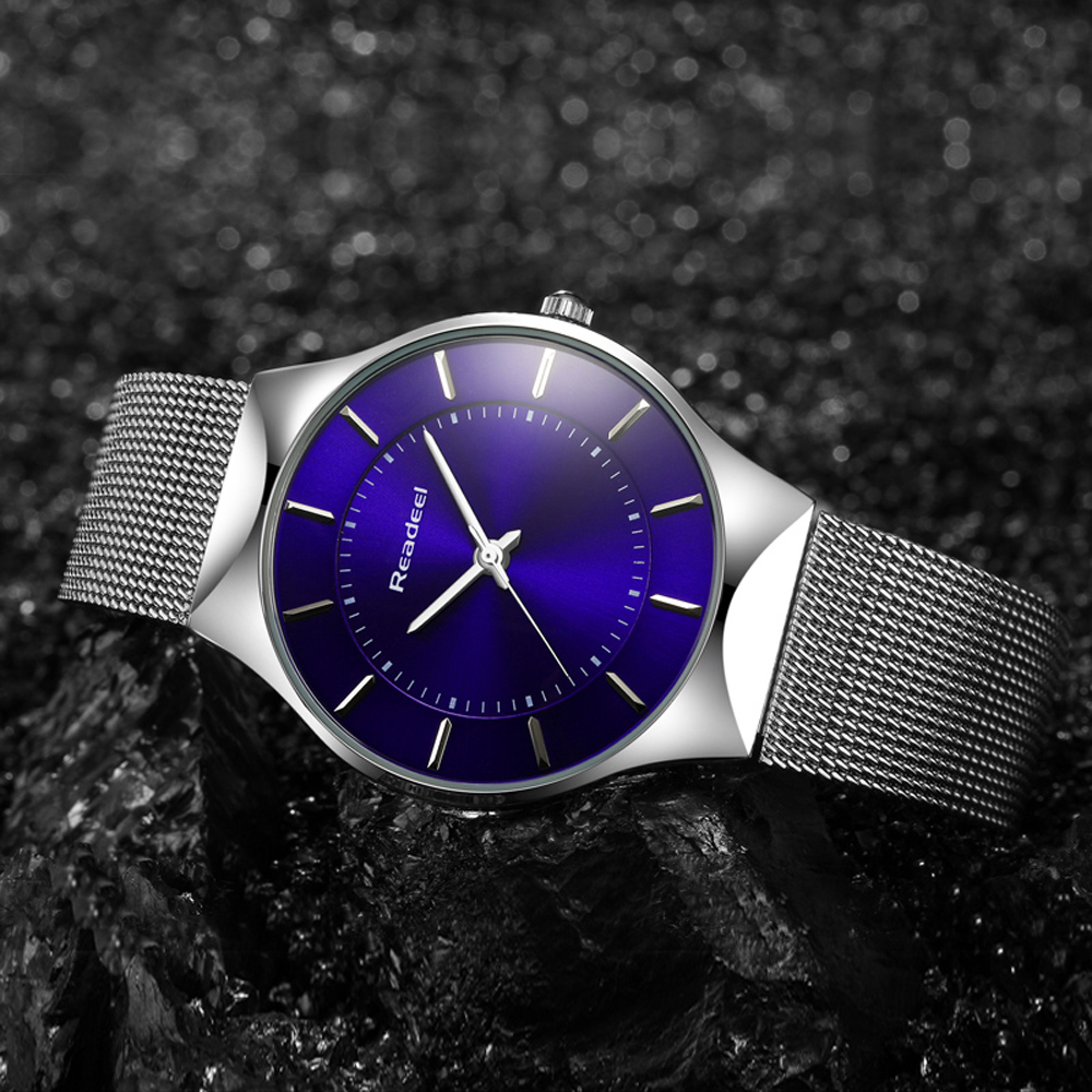 Readeel Luxury Wen ceasuri Sport ceasuri masculin quartz moda din - Ceasuri bărbați