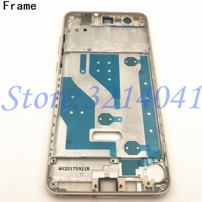 Image 3 - Full Housing For Huawei P10 Lite LCD Front Frame+Glass Back Battery Cover+Housing Middle Frame Adhesive Sticker+Buttons-in Mobile Phone Housings & Frames from Cellphones & Telecommunications on