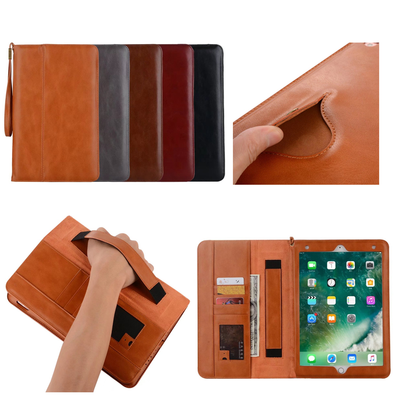 Case for iPad Pro 10 5 Premium PU Leather Business Folio Stand Pocket Auto Wake Smart