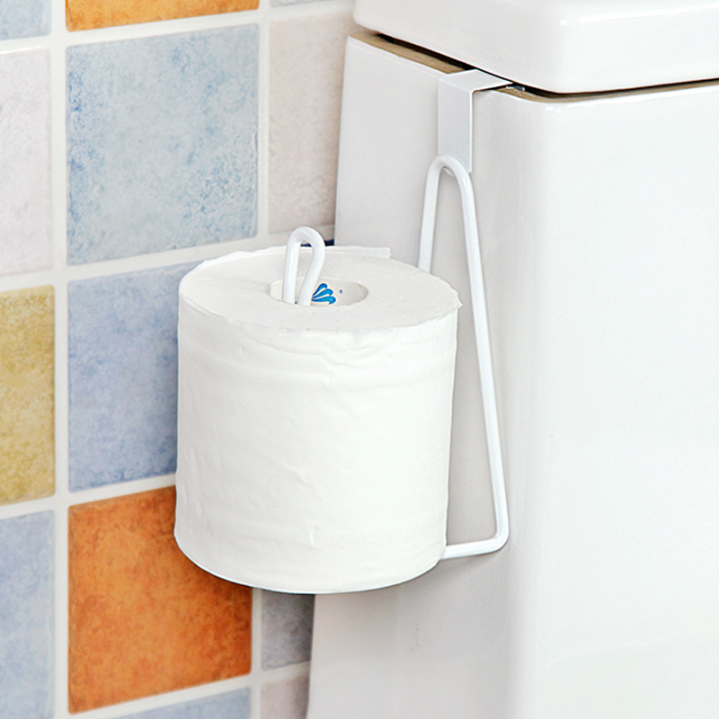 Bathroom Organizer Rack Toilet Roll Paper Hook Kitchen Cupboard Door Towel  Pot Hanger Holder Tissue Hanger. Online Get Cheap Iron Shelves Toilet  Aliexpress com   Alibaba Group