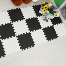 Good Baby Playing EVA Foam Mat 9/lot Interlocking Puzzle Play Mats Protection Floor Mat for Kid,Each 30cmX30cm,1cm Thickness
