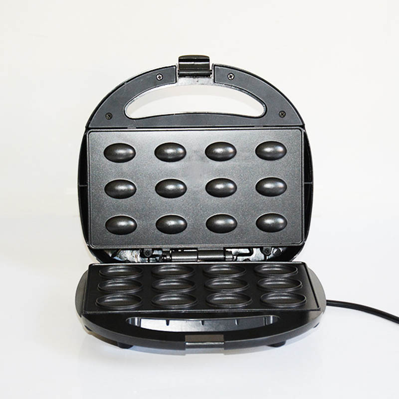 Electric Toaster Grill Baking Machine Nut Griddle Maker Durable Cooker Breakfast