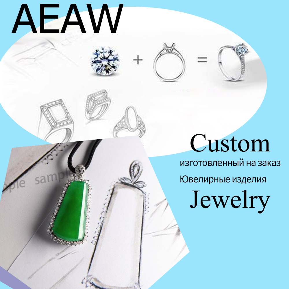 Custom Fine Jewelry (Ring Earring Pendant) 14K 18K (Contact us) contact us