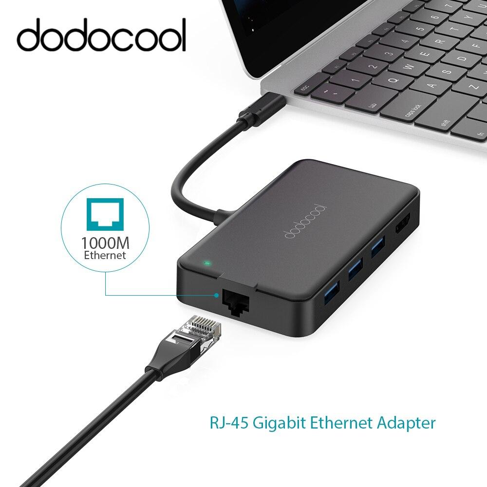 Dodocool 6 in 1มัลติฟังก์ชั่usb c hubกับประเภท c 4พันวิดีโอHD rj 45 gigabit ethernet a dapter usb 3.0 hubสำหรับM Ac B Ook usb c hub-ใน ฮับ USB จาก คอมพิวเตอร์และออฟฟิศ บน AliExpress - 11.11_สิบเอ็ด สิบเอ็ดวันคนโสด 1