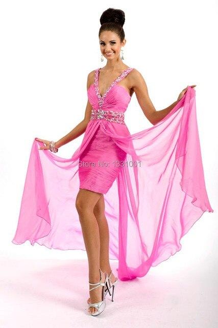 Modas de vestidos para grados cortos