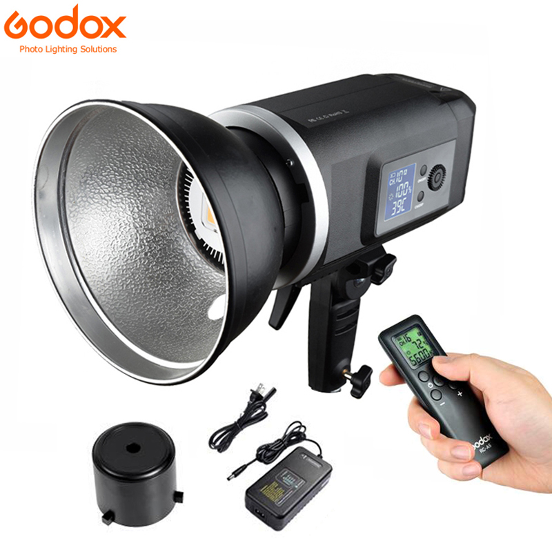 Godox SLB60W 60W 5600K White Version hand held type Outdoors Continuous LED Bowens  Mount Using Lithium Battery