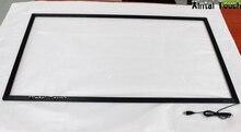 47 дюймов сенсорный экран ИК/10 баллов инфракрасный сенсорный рамка USB Сенсорная панель для LED ТВ/Мониторы