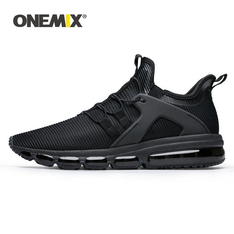ONEMIX New Mens Running Shoes in Black for Lover Walking Shoes Outdoor Sport Sneakers For outdoor jogging Sneakers size EU36-47ONEMIX New Mens Running Shoes in Black for Lover Walking Shoes Outdoor Sport Sneakers For outdoor jogging Sneakers size EU36-47